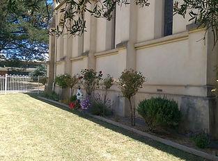 Memorial garden at Whittlesea