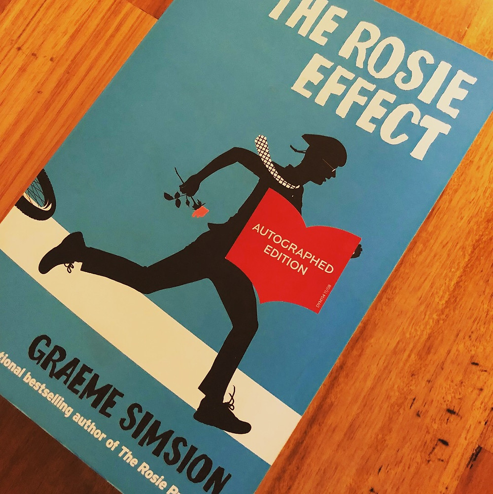 Book cover, The Rosie Effect by Graeme Simsion