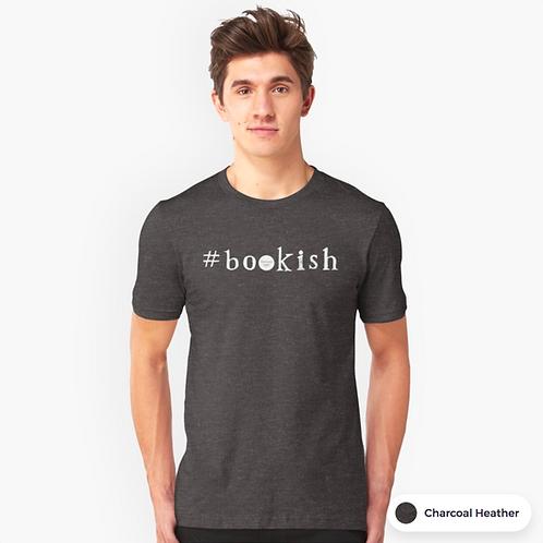 Charcoal heather unisex tshirt - Bookish design