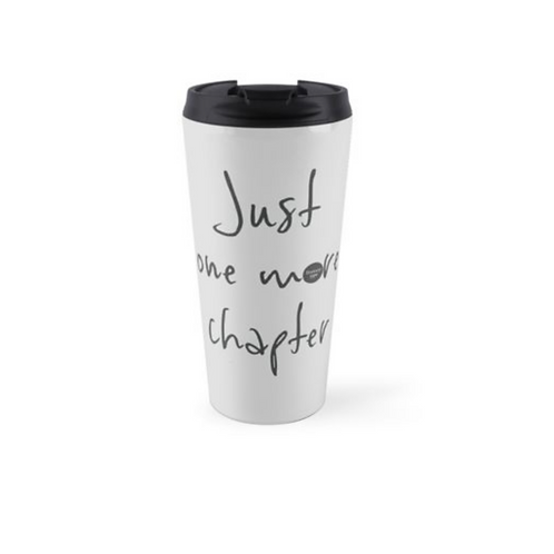 Pale grey large travel mug