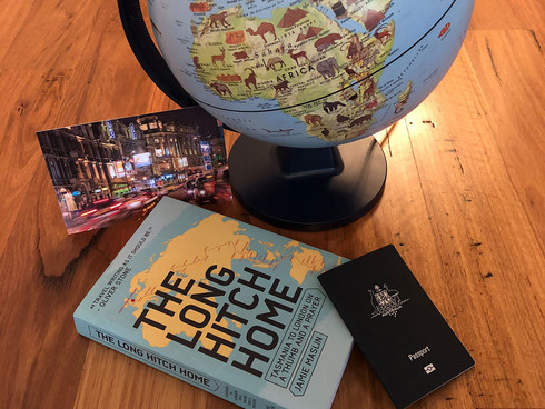 The Long Hitch Home: Tasmania to London on a thumb and a prayer by Jamie Maslin | Book Review