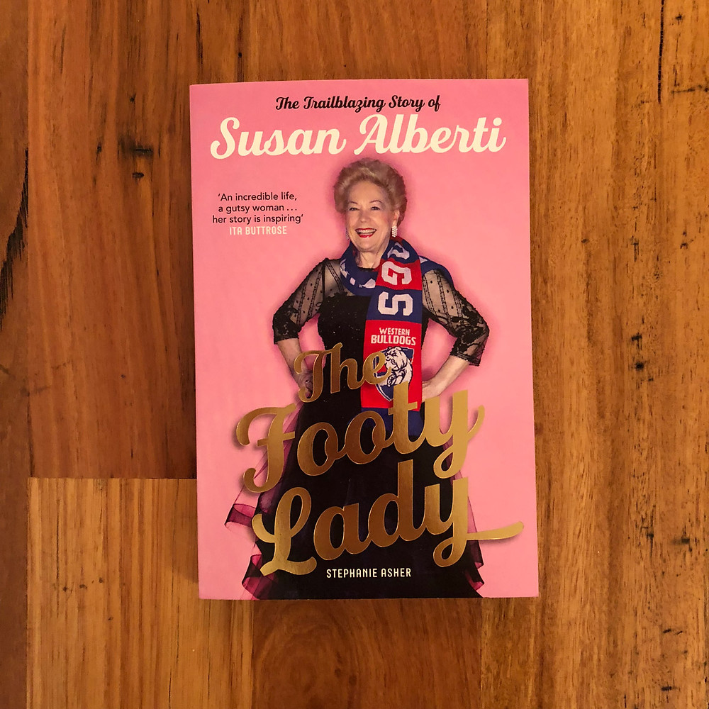 The Footy Lady book cover