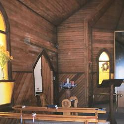 Inside the original Church