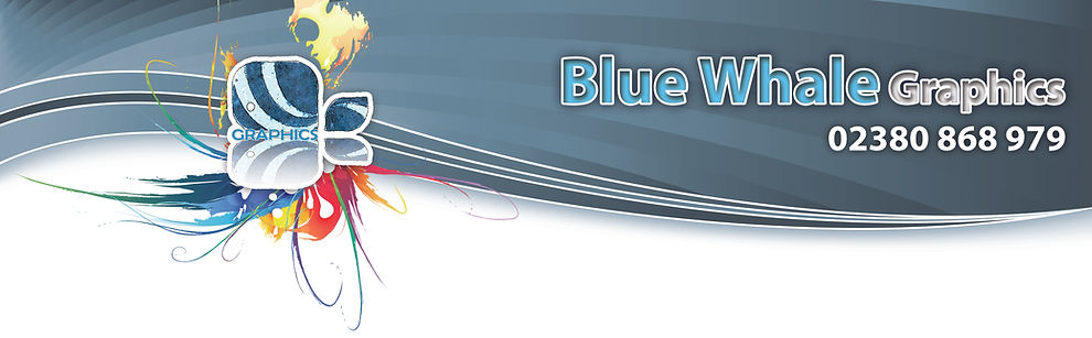 blue whale graphics banner poster t-shirt sign printing leaflets