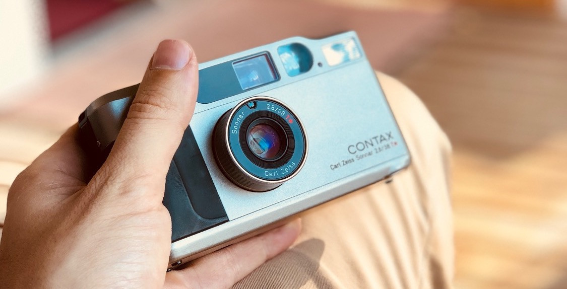 Contax T2 close up