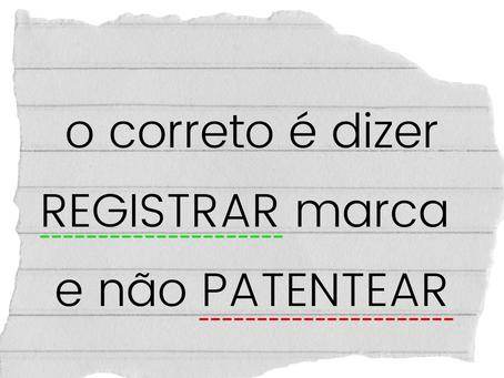 Registrar ou patentear marca?