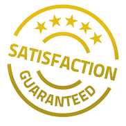 100% satisfaction with our product