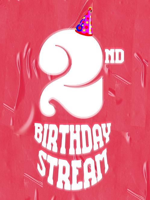 PYS 2nd Birthday Stream (No CHITCHAT)