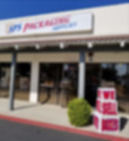 SPS Packaging Supplies Store Front