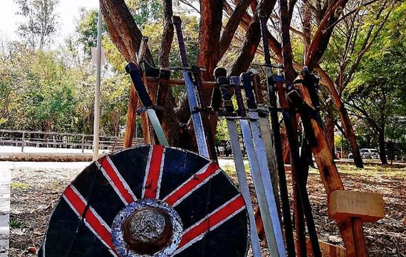 Armas y escudo