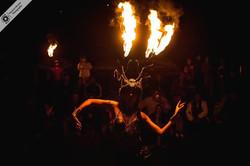 show con fuego