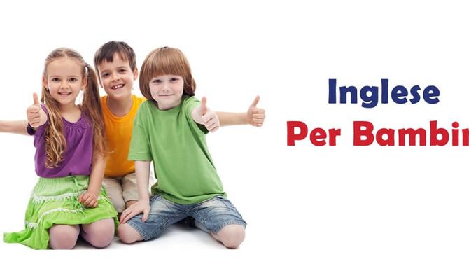 Imparare l'inglese sin da piccoli