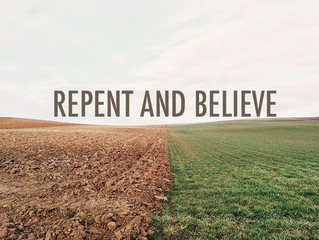 REPENT - RETURN - RECEIVE