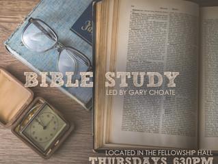 Bible Study - February 2