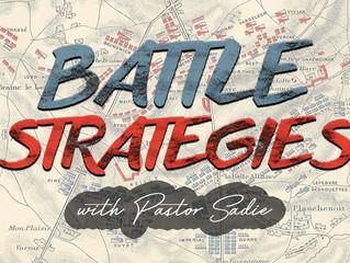 Battle Strategies Workshop - Wednesday July 19