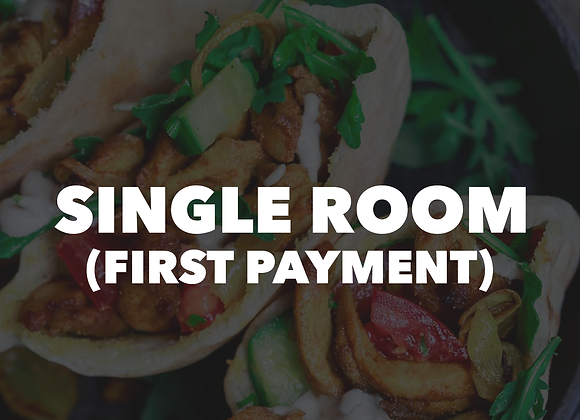 Mt. Lassen Single Room (First Payment)