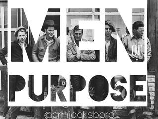 Men of Purpose - Wednesday, May 3