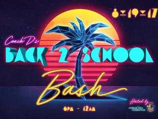 Back 2 School Bash 2017
