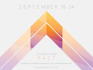 Church-Wide Fast (September 18-24)