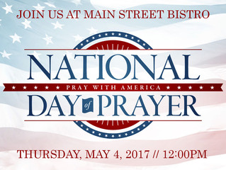 National Day of Prayer - Thursday, May 4