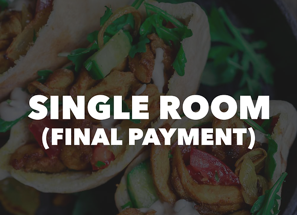 CM Single Room (Final Payment)