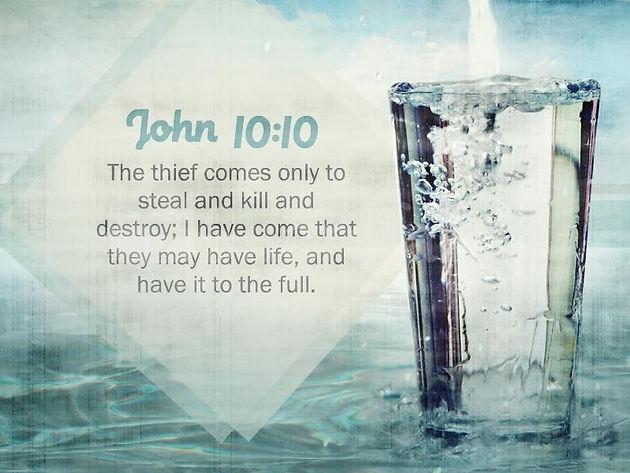 The Abundant Life: Letting God's Abundance Overflow