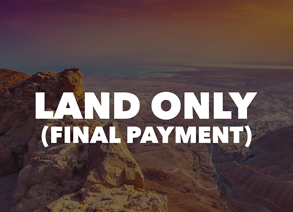 Mt. Lassen - Land Only (Final Payment)