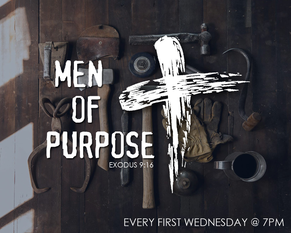 Attention all men! our monthly men's fellowship will be held this Wednesday.