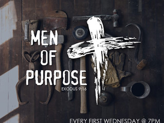 Men of Purpose - Wednesday, February 1