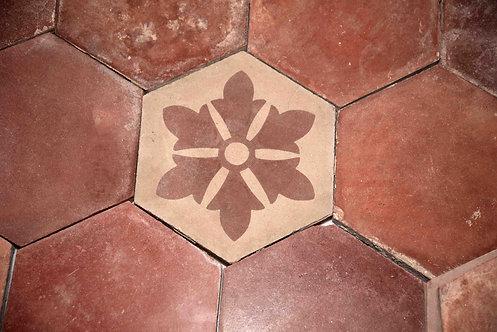 Cementine esagonali decorate FIO12
