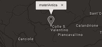 materiantica mappa cingoli