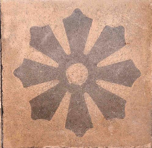 Cementine quadrate decorate FIO20