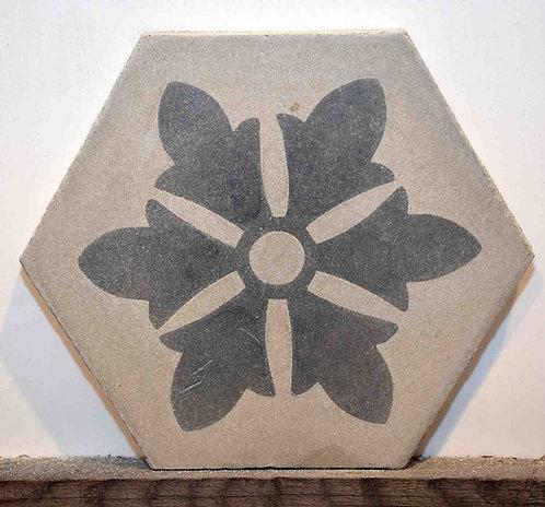 Cementine esagonali decorate FIO125