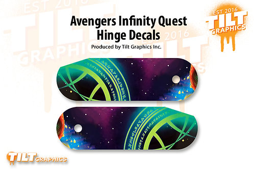 Avengers Infinity Quest Inspired: PRO Hinge Decals