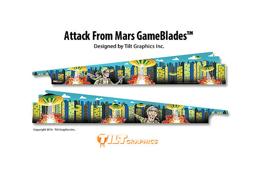 Attack from Mars; Soldier GameBlades™