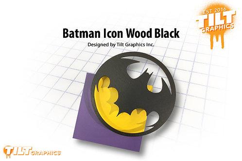 Batman Icon Wood Block
