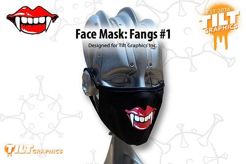 Face Mask: Fangs 1