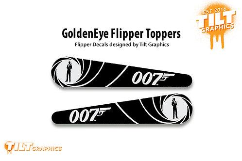 GoldenEye Flipper Toppers
