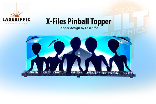 X-Files Pinball Topper - Made in the USA