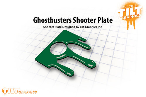 Ghostbusters Slime Shooter Plate