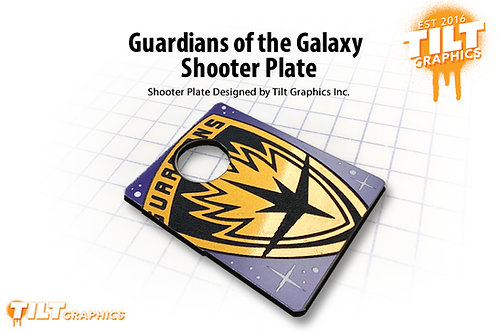 Guardians of the Galaxy: Badge Shooter Plate