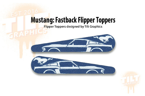 Mustang Flipper Toppers