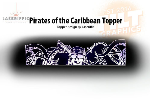 Pirates of the Caribbean Topper