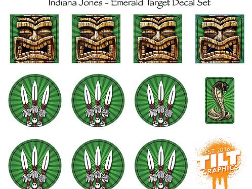 Indiana Jones: Emerald Target Decals