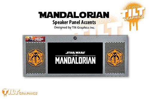 Mandalorian Speaker Grill Accents