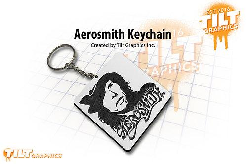 Aerosmith Custom Keychain