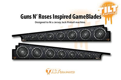 Guns 'N Roses Inspired: JJP Speakers GameBlades™