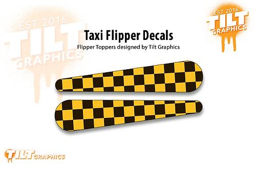 Taxi Flipper Decals
