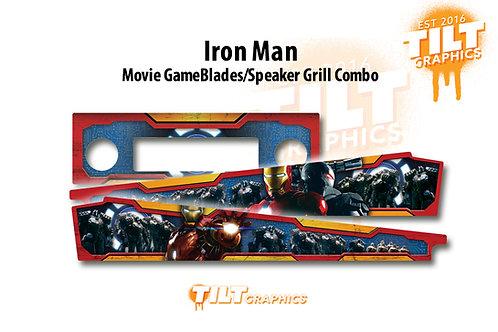 Iron Man SpeakerGrill™  & GameBlades™ Combo