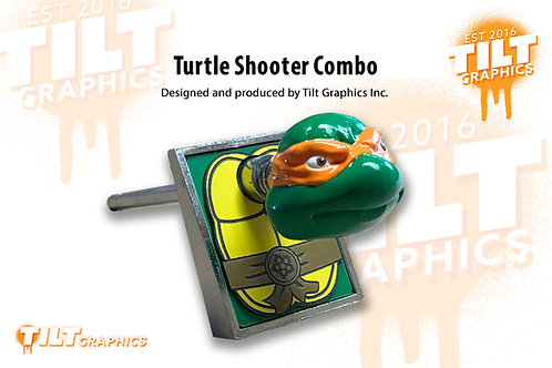 TMNT: Turtle Shooter Rod & Shooter Plate Combo